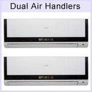 18000 Btu Dual Zone Ductless Mini Split Air Conditioner