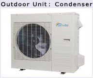 2 Ton Air Conditioner Ductless Heat Pump Compressor