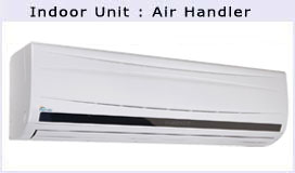 24000 BTU Mini Split Air Conditioner Heat Pump Air Handler