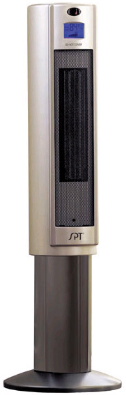 Pedestal Electric Heaters : Portable quot electric pedestal ceramic heater sunpentown