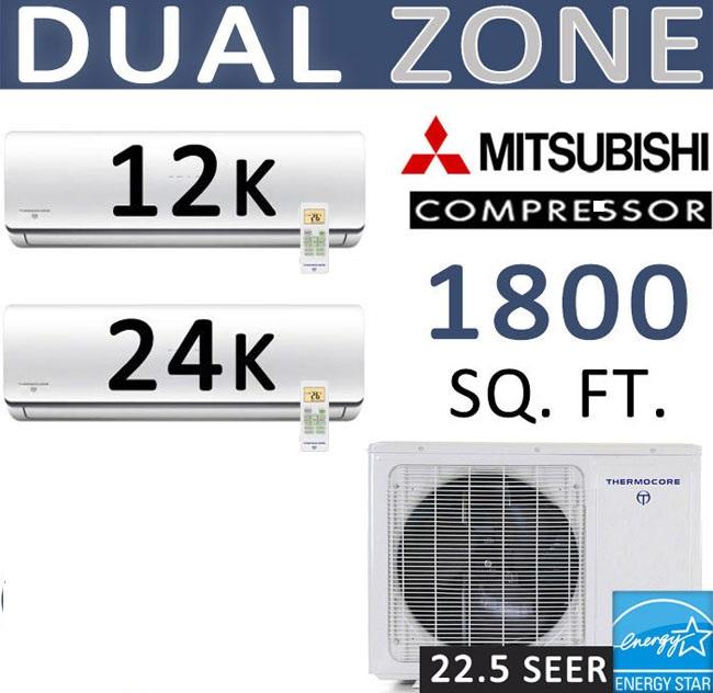 Dual Zone Thermocore Mitsubishi Compressor
