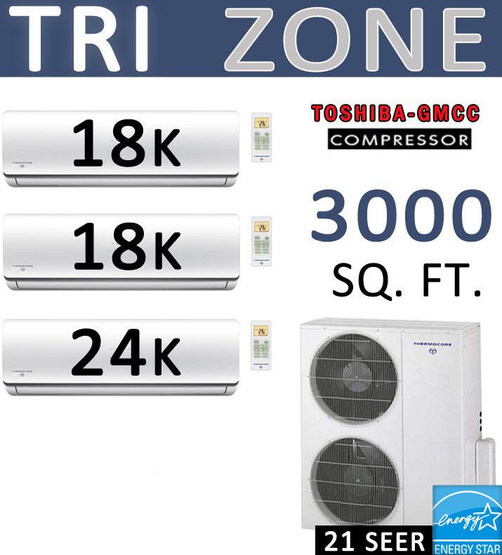 Dual zone Mitsubishi Compressor
