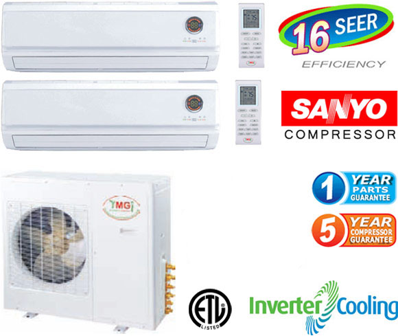 Quad Zone Mini Split Air Conditioner