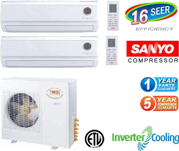Quad Zone Mini Split Air Conditioner