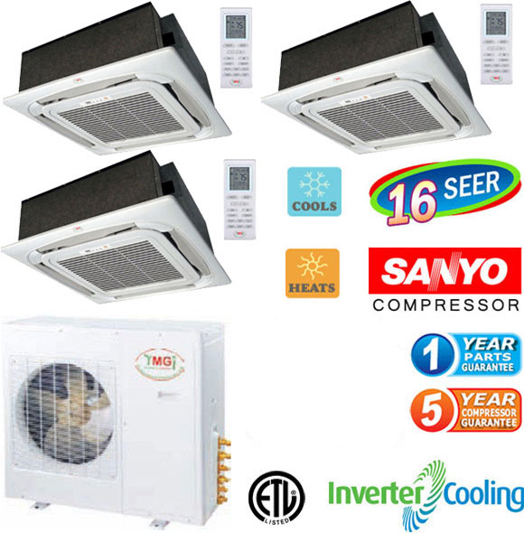 Tri Zone Mini Split Air Conditioner