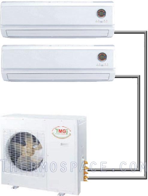 Dual Zone Mini Split Air Conditioner