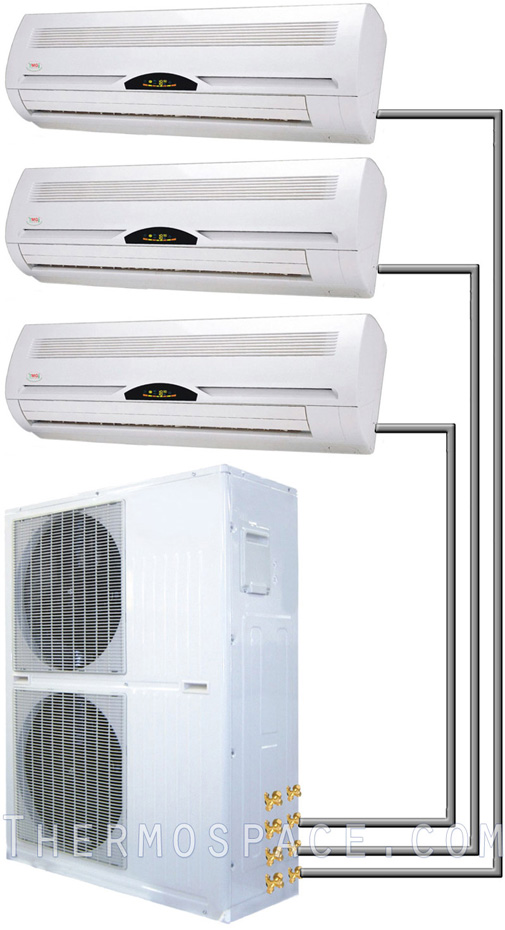 27000 btu tri zone mini split air conditioner ton for Saia motor freight phone number